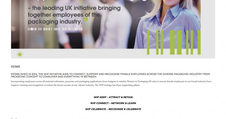 WOMEN IN PACKAGING UK LAUNCH NEW WEBSITE
