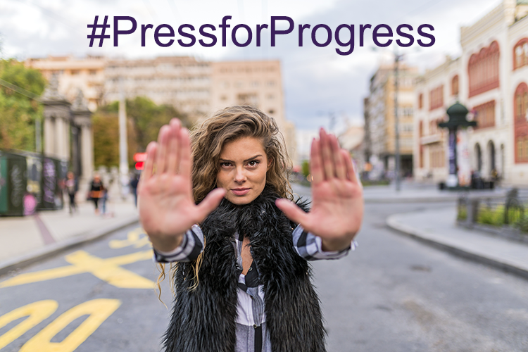 International Women's Day, Pantone Colour of the Year and #PressforProgress